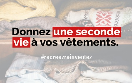 Collecte de vêtements au profit de la Croix-Rouge