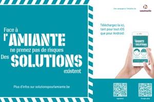 Constructiv et Fedris prolongent la campagne Solutions pour l'amiante