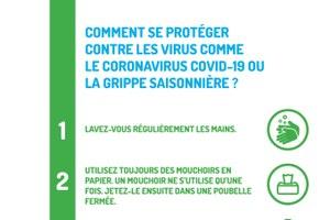 Coronavirus: un site internet pour répondre à toutes vos questions