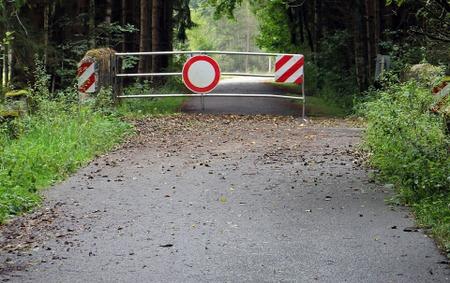Route bloquée: Meix - Lahage