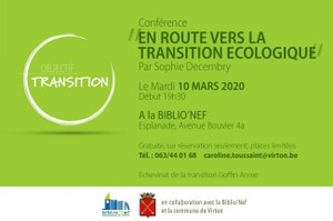 Conférence - En route vers la transition écologique