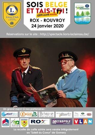 ROX - Sois belge et tais-toi