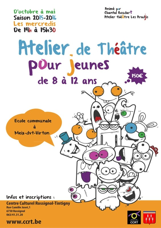 Affiche   théâtre 2015 2016 RVB