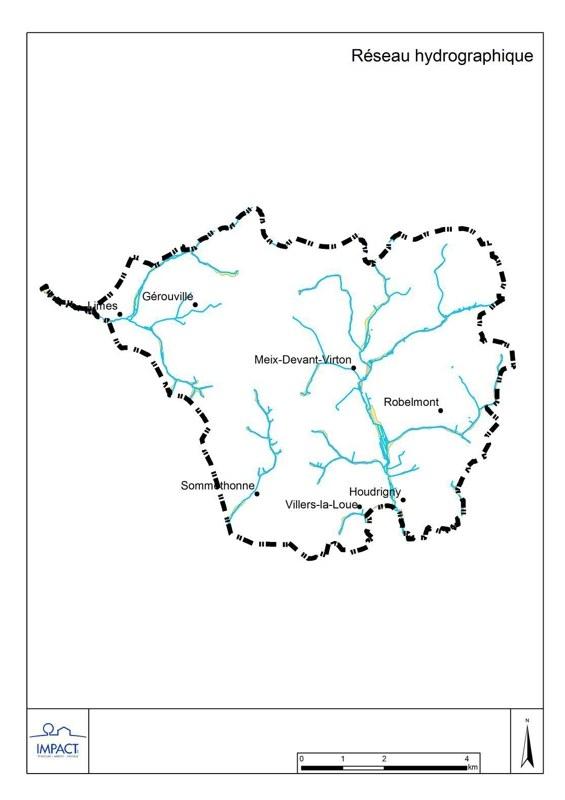Réseau hydrographique